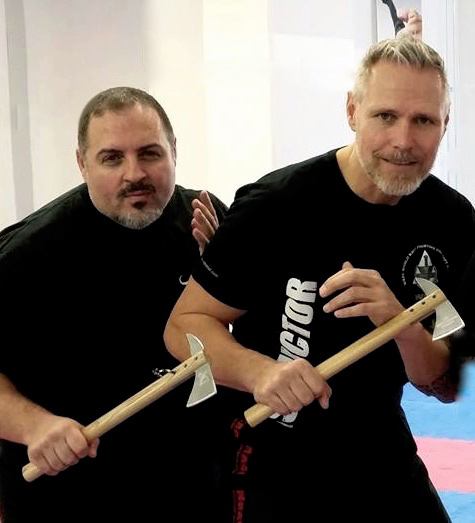 Guru Paul Bennett and Instructor Peter Weckauf