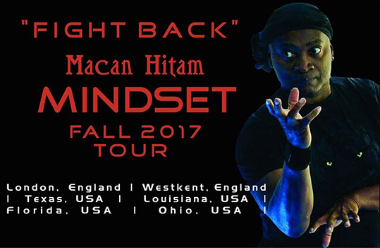 Guru de-Bordes' 'Fight Back' Fall 2017 Seminar Tour