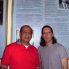Maha Guru Adityo Hanafi and Guru Scott McQuaid ::